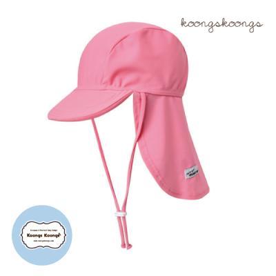 [플랩캡수영모] 핑크플랩캡
