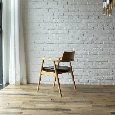치토 고무나무 원목 식탁 의자