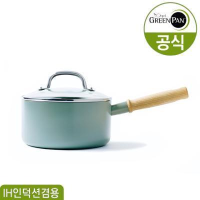 그린팬 메이플라워 세라믹 편수냄비 18cm/2.2L