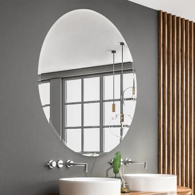 올트레 컬렉션 no_2585 프레임리스 타원 거울 75x55cm