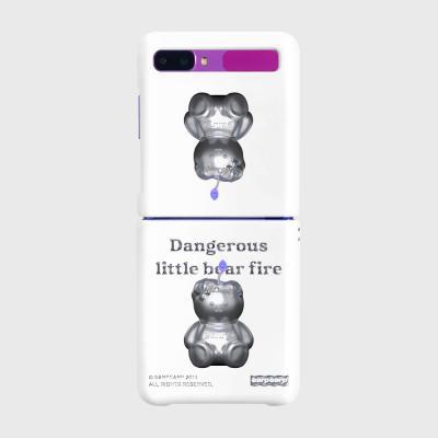LITTLE FIRE STEEL COVY-WHITE(Z플립-하드)