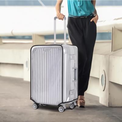 여행용 캐리어 여행 가방 방수 보호 커버 20형 투명