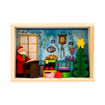[그라우프너] 산타 크리스마스 선물 리스트 축하박스