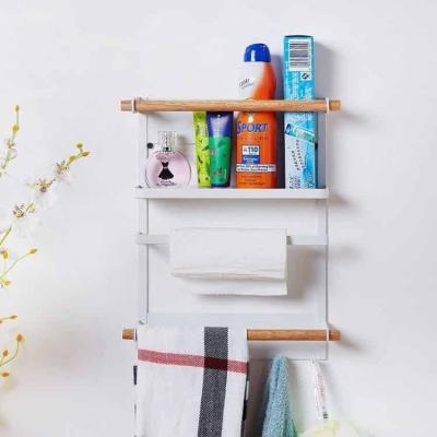 마그네틱 사이드 선반 주방용품수납