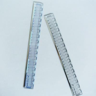 비팬시 15cm 30cm 클리어커팅방안자 문구자