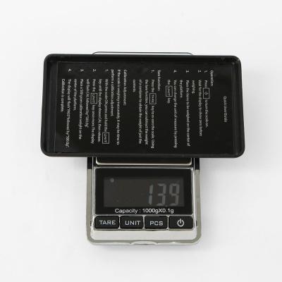 휴대용 소형 전자저울 DH-938A(1kgx0.1g)