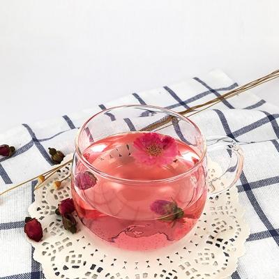 [로하티]멜로우 내열 유리컵 / 홈카페 커피 주스잔