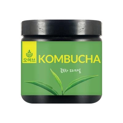 콤부차 홍차맛 꼼부차 차음료 가루 kombucha 100g