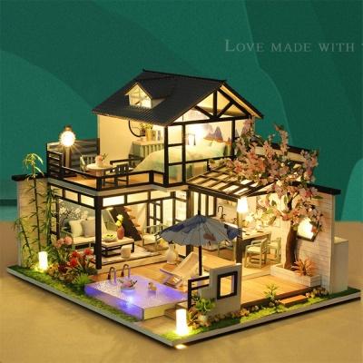 집콕 아이템 2층 가옥 미니어처 DIY 하우스 만들기
