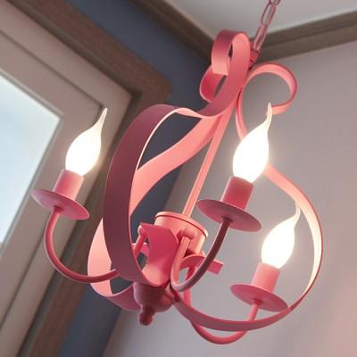 [바이빔] 로라3등 샹들리에-핑크