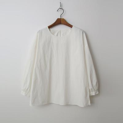 Nylon Cotton Puff Blouse