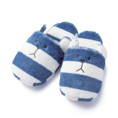 크래프트홀릭 NAVY BORDER SLOTH SLIPPER