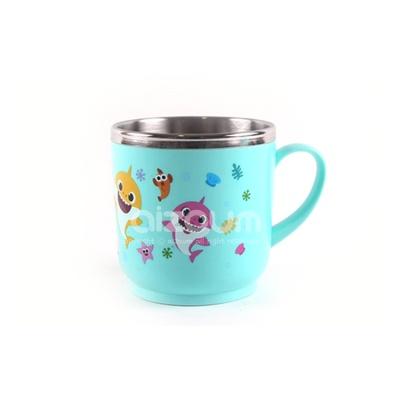 핑크퐁 스텐논슬립컵