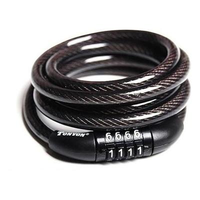 자전거락 토니온 TY532 강철와이어락 자물쇠