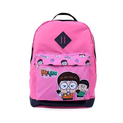 흔한남매 케미 이스트백팩 핑크 신학기 가방 아동배낭