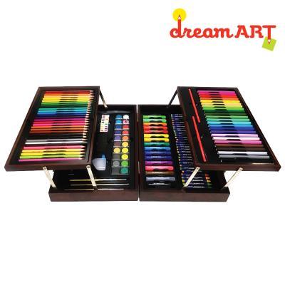 [드림아트] 미술세트 프리미엄 M + 컬러링페이지10매 + 컬러링북 1권 + 스케치북 1권