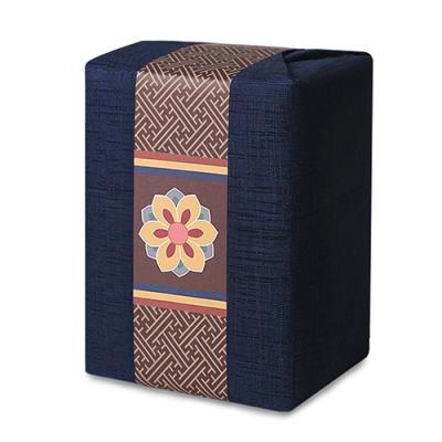석간주색 전통패턴 띠종이 (10개)