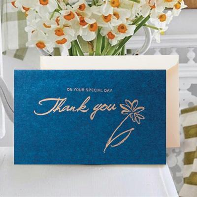 청색 감사 캘리 카드 FT1041-4