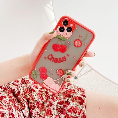 아이폰11pro max/프로/카메라보호 투명 핸드폰 케이스