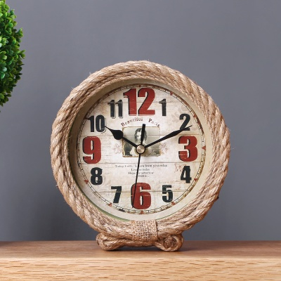 앤틱 로프 탁상시계