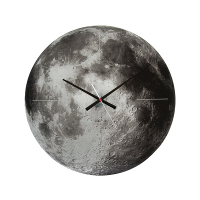 (Karlsson) Moon mirror glass 벽시계