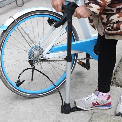 알루미늄 자전거에어펌프 /자전거공기주입기