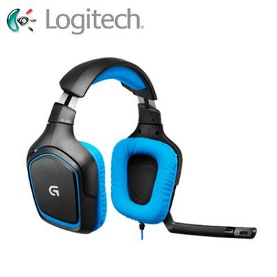 logitech 로지텍 서라운드 사운드 게이밍 헤드셋 G430 (7.1채널 / 노이즈 캔슬링 마이크 / 스포츠 퍼포먼스 소재 이어컵 / 마이크 음소거 버튼)
