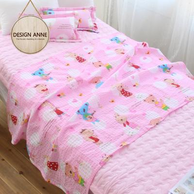 [디자인엔] 순면리플 엔 앙팡 유아홑이불-핑크