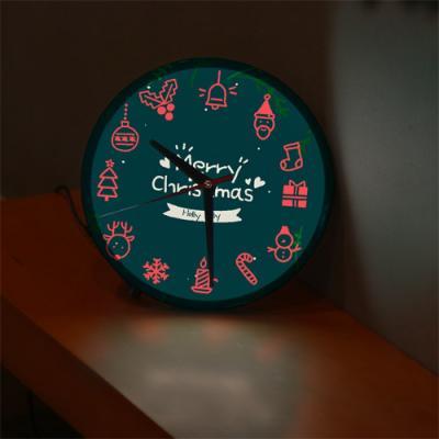 ng275-LED시계액자25R_메리크리스마스