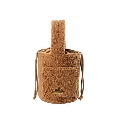 [로디스]비비 양털버킷백 양털가방 브라운 여성가방