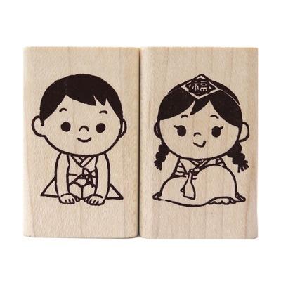 전통인사 소년소녀-세트