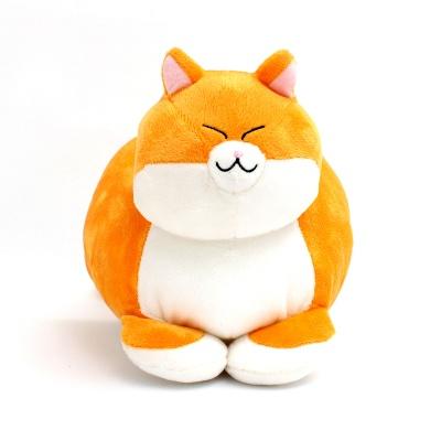 식빵뚱냥 고양이 인형 - 치즈