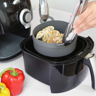 국산 실리콘 에어프라이어 용기 그릇