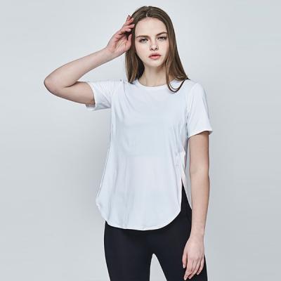 [메디테이션]TS7065 화이트 요가복 운동복 티셔츠