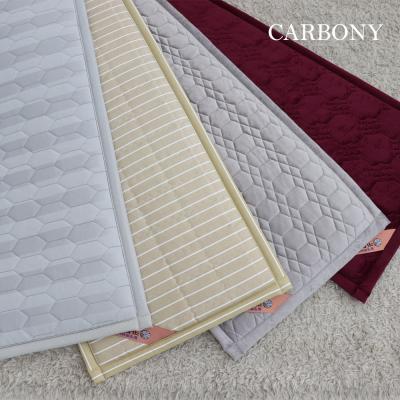 [카보니] 소파형 면 탄소매트 (55*150)