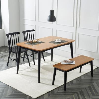 레시피 4인 식탁(의자미포함)