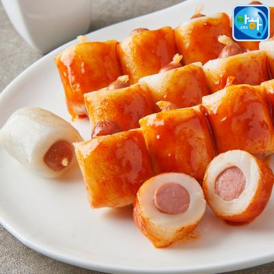 [아하식품] 대용량 소떡소떡 소시지말이떡 1kg