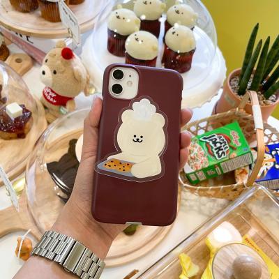 (투명 아크릴톡) 곰찌 쿠키
