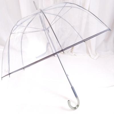 TW VIP 투명 비닐 우산 돔모양 장우산