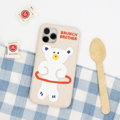 Brunch Brother 슬림핏 실리콘케이스 for i-Phone 111