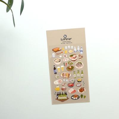 JR 스티커 1109-food trip #3