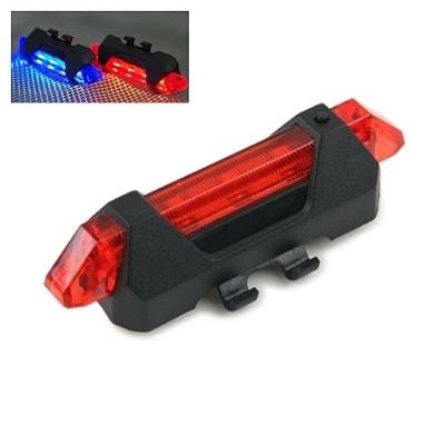 (Coms) USB충전 자전거 LED 점멸기 레드 (WH2582)