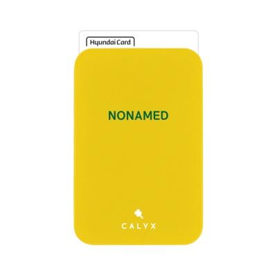 캘릭스 스마트폰 부착형 인쇄 카드포켓 (미니폰트)