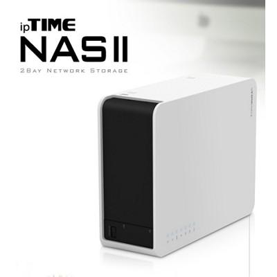 [EFM Network] ipTIME-NAS-II / 3.5인치 2베이 / HDD 미탑재 / 기가비트 유선 네트워크 스토리지