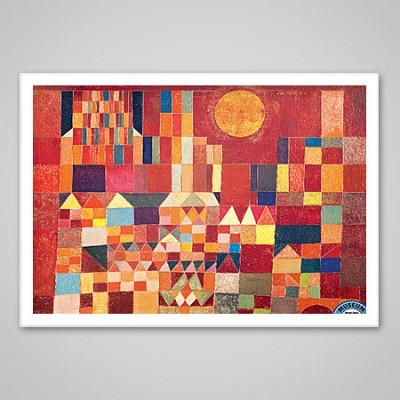 1000조각 직소퍼즐▶ 파울 클레 - 성 그리고 태양 (EU6-0836)