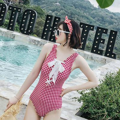 O126 코르셋 여성 여름 원피스 수영복