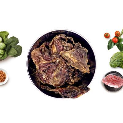 비앤랩 면역력 닭모래집 육포 120g 수제간식