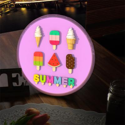 nh295-LED액자25R_상큼한아이스크림