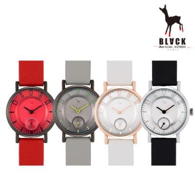 [블랙마틴싯봉] 여성 가죽 손목시계 BKL1665L