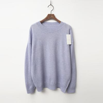 Cashmere Wool Round Sweater